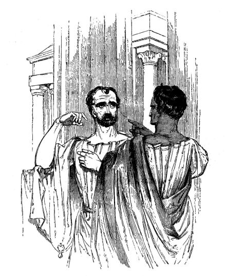 "brutus v cassius Cassius compares the name of 'brutus' with 'caesar', and by doing  ""young  man, thou couldst not die more honourable,"" [act v, scene i, 60."