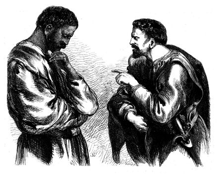 deception illustrated by characters in othello Deception and betrayal in othello deception and betrayal are what drive the story of and also indirectly causes the demise of many important characters.