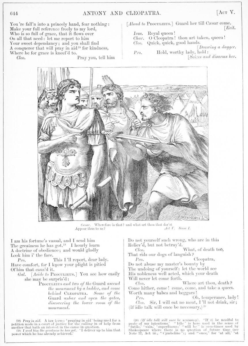 H. C. Selous, Anthony and Cleopatra, Illustration #17