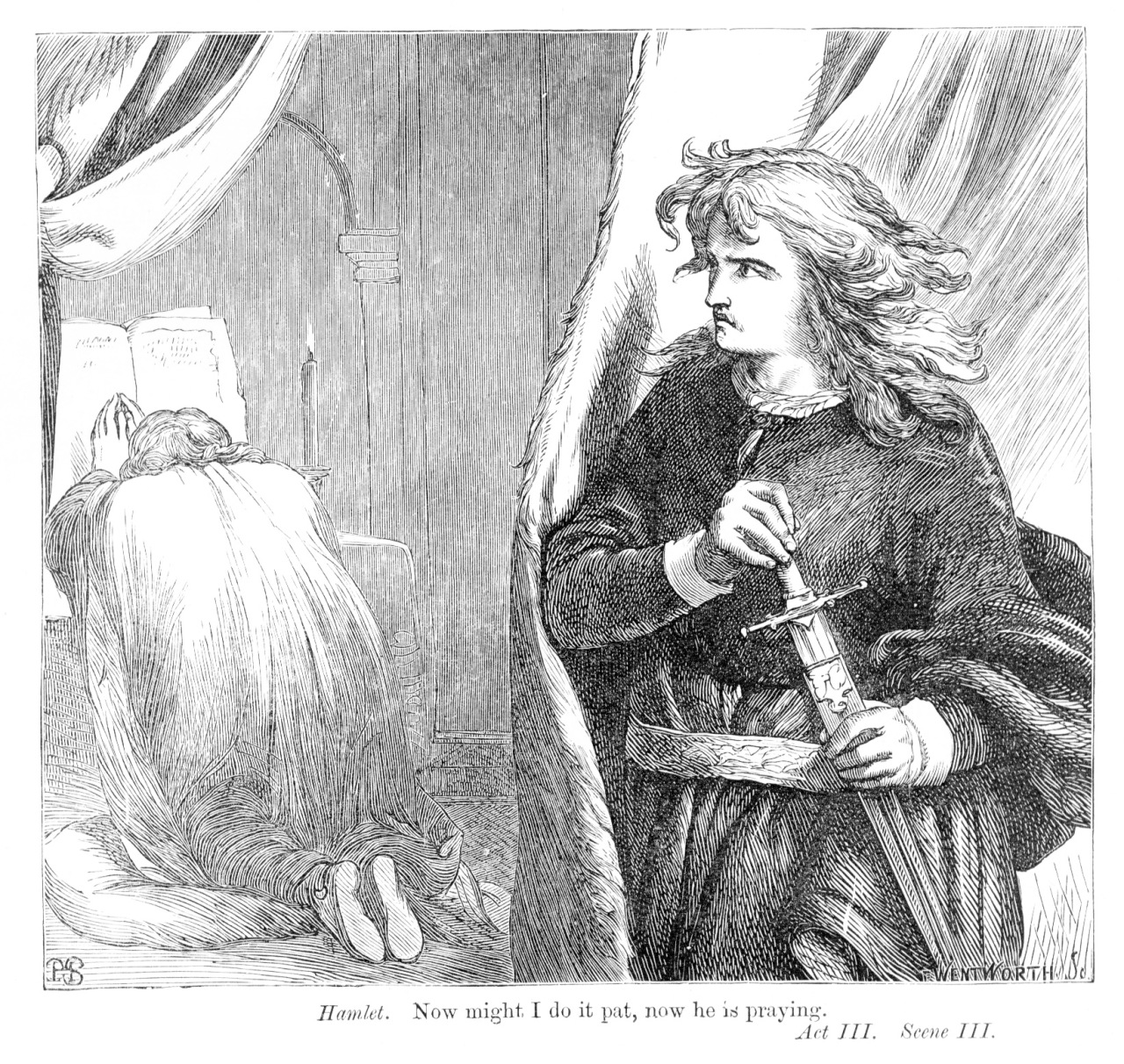 hamlet v claudius Throughout the play, hamlet, by william shakespeare, hamlet learns the truth of his father's recent murder as the play goes on hamlet promises to avenge his father's murderer, his uncle and newly crowned king, claudius.