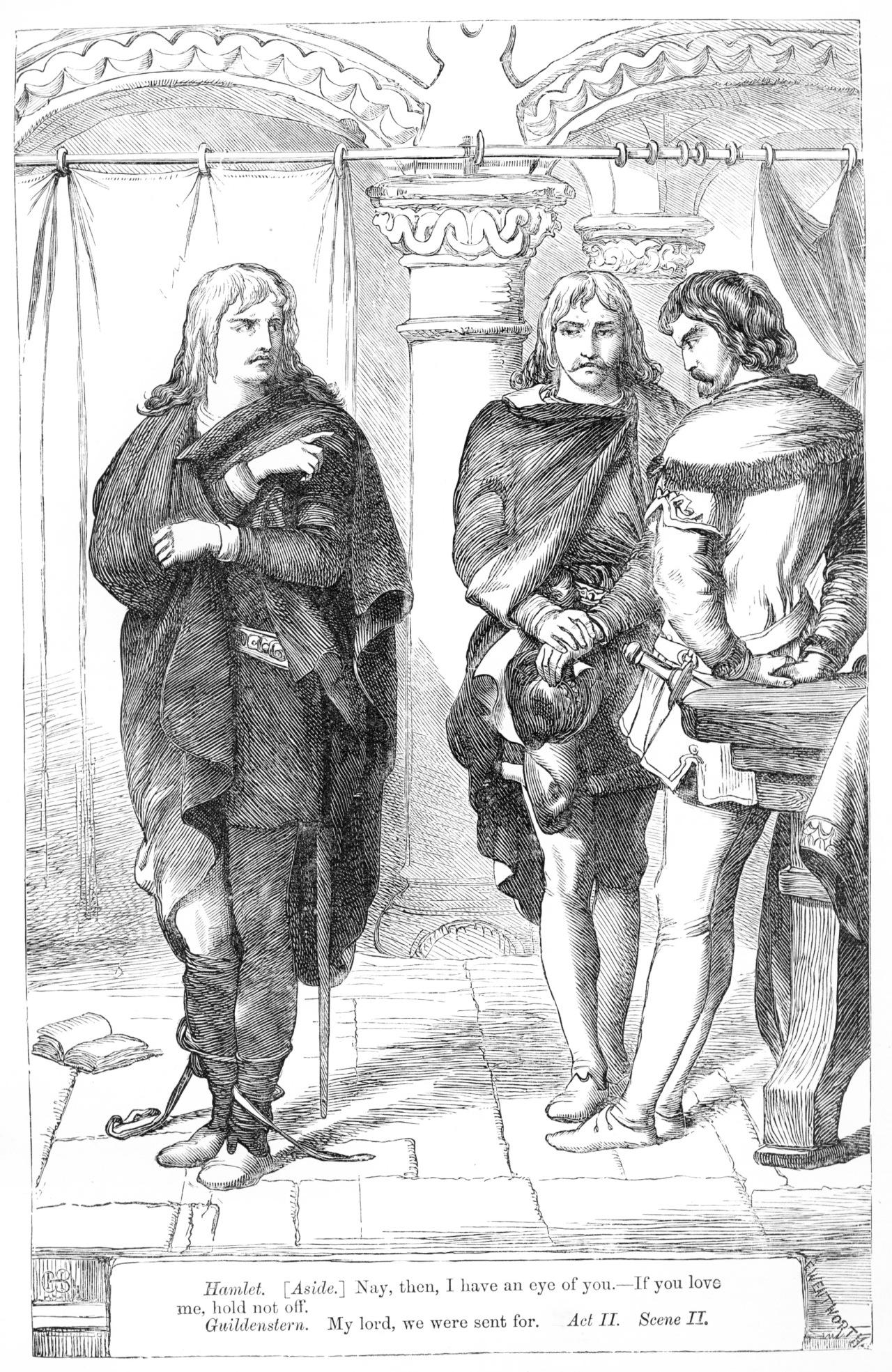 hamlet  rosencrantz and guildenstern