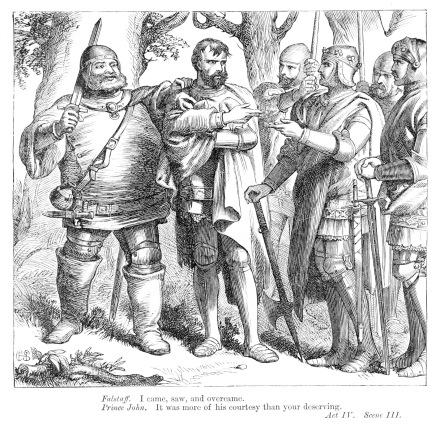 sir john falstaffs influence on prince How sir john falstaff, with his satellites the prince henry iii   difficulty to disbelieve that falstaff actually lived and influenced the age he is.