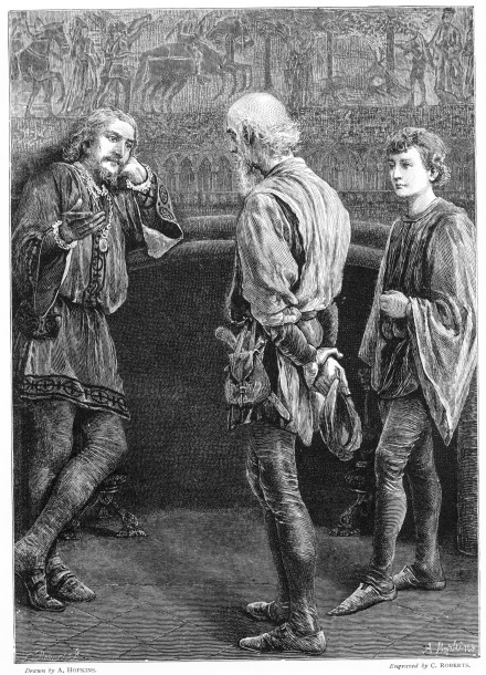 shakespeares good characters illustrated in the play king lear Some of these great texts, like william shakespeare's plays, have been removed   king lear, whose characters struggle with these same themes  mates,  students should prepare a poster with illustrations based on some of the images.